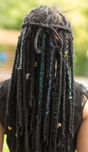 Sarah's dreadlock timeline yarn