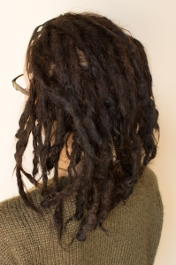 Sarah dreadlock journey 1.5 year headband