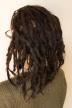 Sarah dreadlock journey 1.5 year headband
