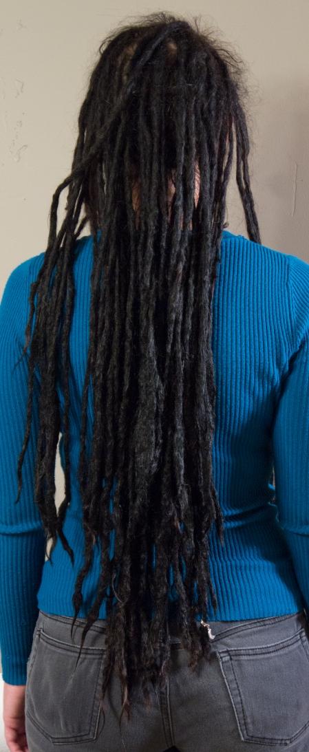 6 years | Sarah's dreadlock journey
